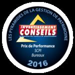Immo Placement reçoit le Prix de Performance pour les SCPI de commerces à l'occasion des 4ème Pyramides de la Gestion de Patrimoine 2016 - atland_voisin